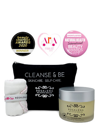 Cleanse & Be Cleansing Balm | Rosalena Bio-Active Skincare | 100ml
