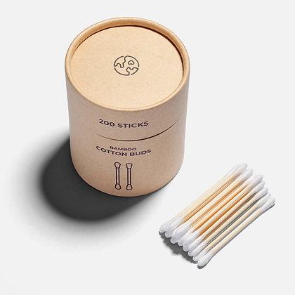 200 Bamboo Cotton Buds - Zero Waste Club