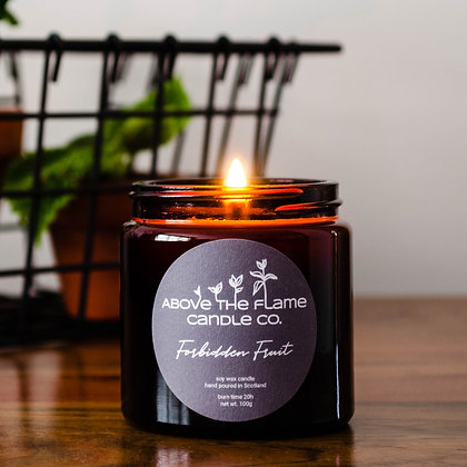 Forbidden Fruit Soy Wax Candle | 100g | Above The Flame
