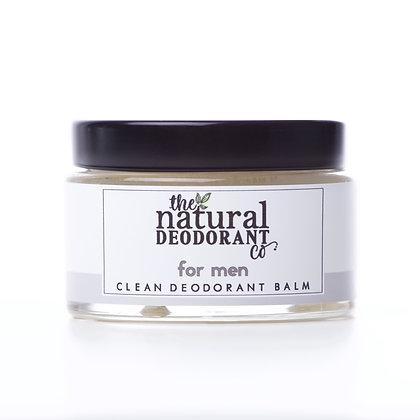 The Natural Deodorant Co.   Clean Deodorant Balm 55g For Men