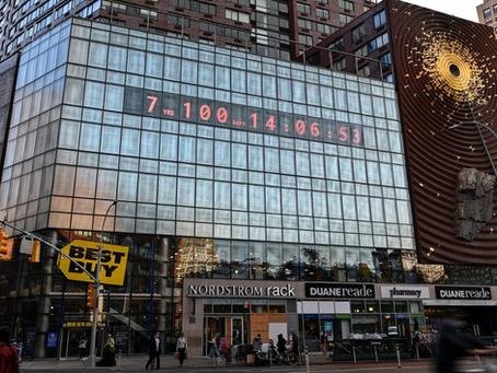 Climate Clock: l'orologio che segna il tempo necessario per rendere la crisi climatica irreparabile