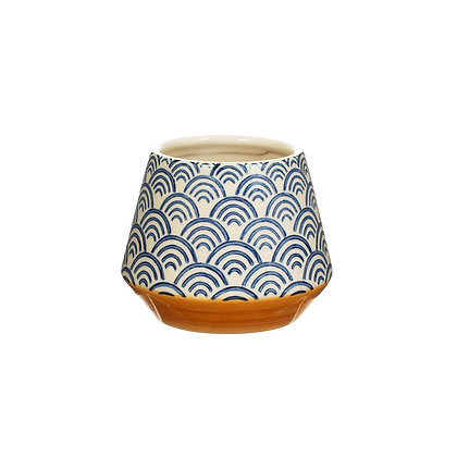 Blue Wave Planter | Sass & Belle | Small