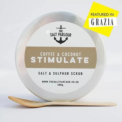 The Salt Parlour Coffee & Coconut Body Scrub 200g – STIMULATE
