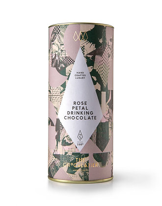 Rose Petal Drinking Chocolate | The Chocolatier | 140g