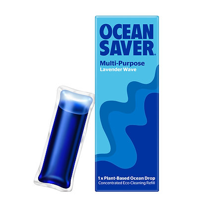 OceanSaver Multi-Purpose Cleaner Refill Drops -Lavender Wave