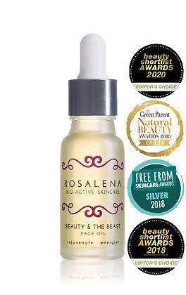 Rosalena Bio-Active Skincare | Beauty & the Beast Face Oil | 15ml
