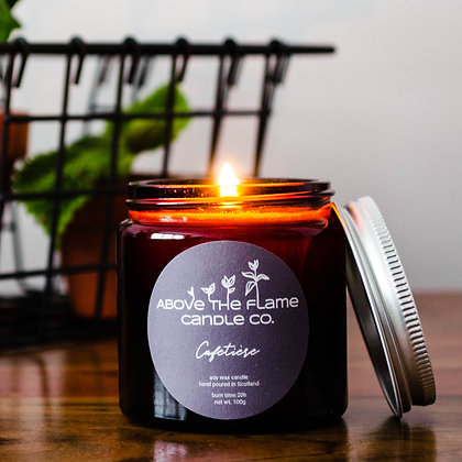 Cafetiere Soy Wax Candle | 100g | Above The Flame