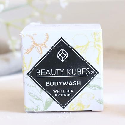 Beauty Kubes | Plastic Free Body Wash | White Tea & Citrus | 27 Cubes