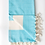 Thumbnail: Nordic Hammam Towel | 100% Natural Cotton | Turquoise