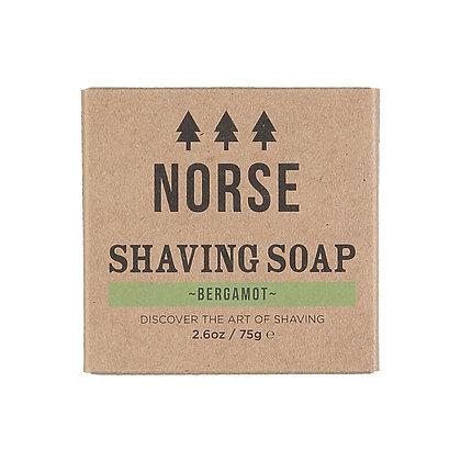 Norse Shaving Soap | Bergamot | Zero Waste | 75g