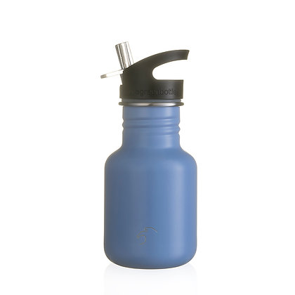 One Green Bottle - Classic Blue stainless steel 350ml bottle