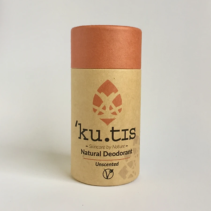 'Ku.tis Natural Deodorant - Unscented