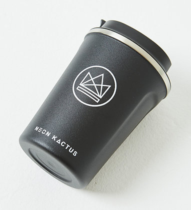 Neon Kactus Reusable Insulated Coffee Cup – Rock Star