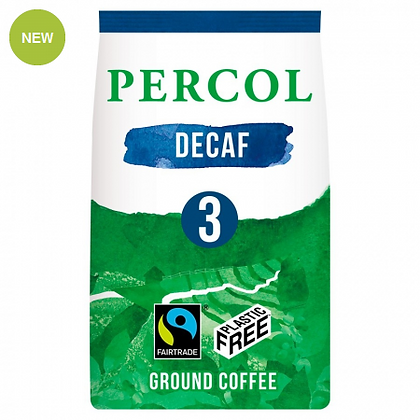 Percol Plastic Free Ground Coffee   Delicious Decaf   200g