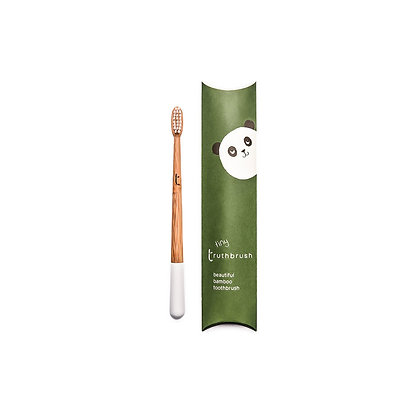 Childrens Bamboo Toothbrush | Cloud White | Truthbrush