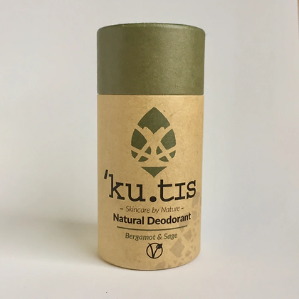 'Ku.tis Natural Deodorant - Bergamot & Sage