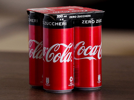 KeelClip™: ecco il nuovo packaging sostenibile di Coca-Cola