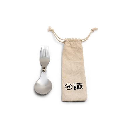 Spork and Cotton Bag | Elephant Box