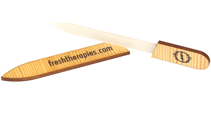 Fresh Therapies Glass Nail File