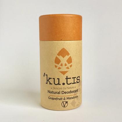 'Ku.tis Natural Deodorant - Grapefruit & Mandarin