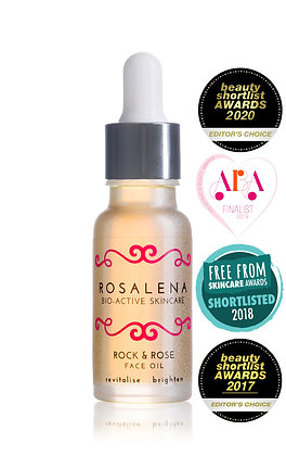 Rosalena Bio-Active Skincare   Rock & Rose Face Oil   15ml