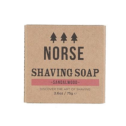Norse Shaving Soap | Sandalwood | Zero Waste | 75g