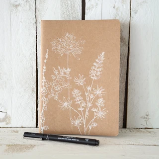 A5 Notebook Garden Design - Helen Round