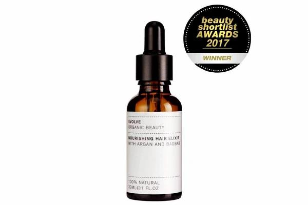 Travel Size Nourishing Hair Elixir | Evolve Organic Beauty | 10ml