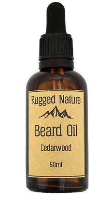 Rugged Nature Cedarwood Beard Oil 50ml