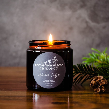 Winter Lodge Soy Wax Candle | 100g | Above the Flame