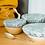 Thumbnail: Helen Round | Reusable Bowl Covers | 100% Linen | Set of 3 | Duck Egg