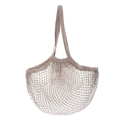 String Shopper Bag | Light Grey | Plastic Free