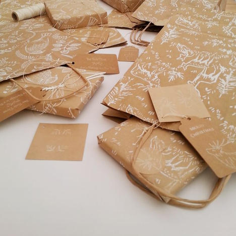 Eco Gift Wrap & Cards