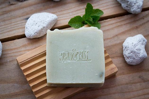 Pumice + Patchouli Soap Bar - Bean & Boy