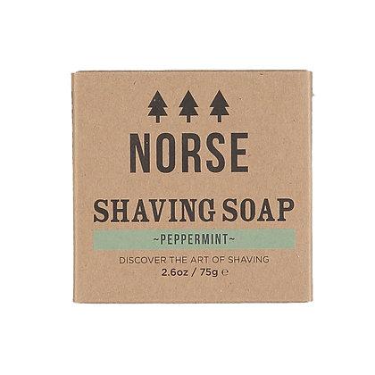 Norse Shaving Soap | Peppermint | Zero Waste | 75g