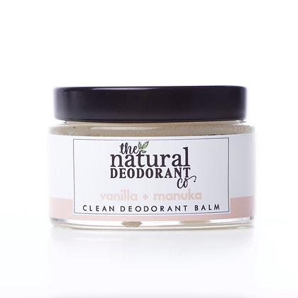 Clean Deodorant Balm - Vanilla + Manuka 55g