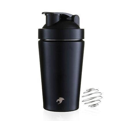 One Green Bottle - Black Gym Shake / Smoothie 500ml Bottle