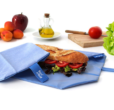 Reusable Sandwich Wrap | Boc'n'Roll | Blue