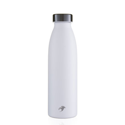 One Green Bottle - White Thermal Insulated 500ml bottle