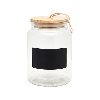 Glass Chalkboard Storage Jar | Sass & Belle