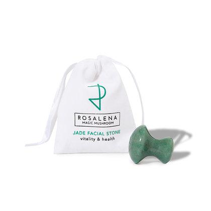 Jade Magic Mushroom Facial Tool | Rosalena Bio-Active Skincare