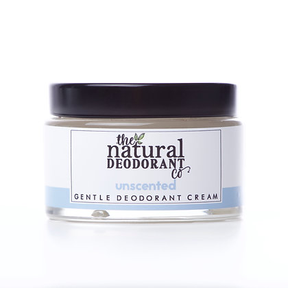 The Natural Deodorant Co. | Gentle Deodorant Cream 55g | Unscented