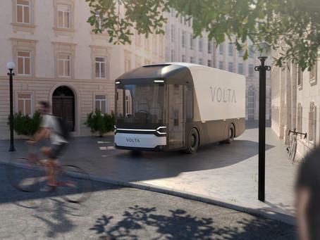 Volta Zero: il camion elettrico realizzato con fibre di lino e resina biodegradabile