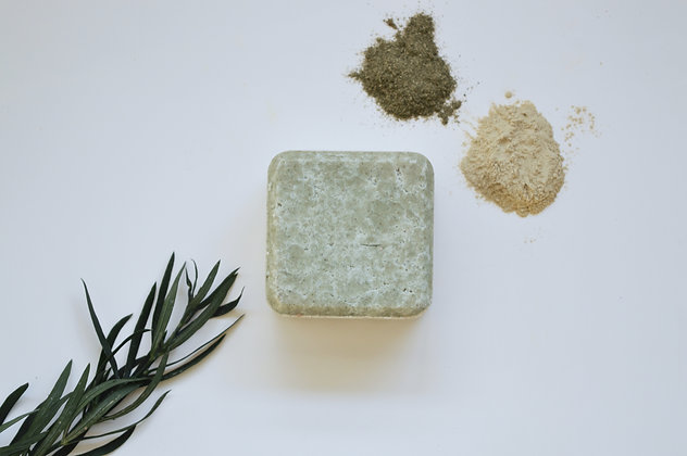 Zero Waste Path 2in1 Solid Shampoo + Conditioner Bar - Itchy Scalp