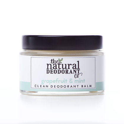 The Natural Deodorant Co. | Clean Deodorant Balm 55g | Grapefruit & Mint