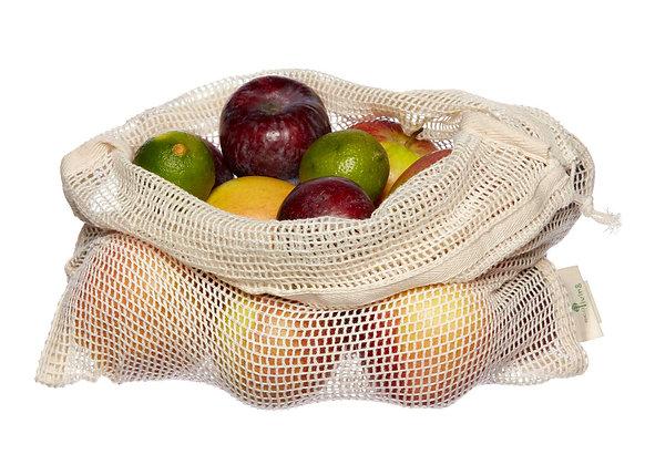 Organic Fruit & Vegetable Net Bags
