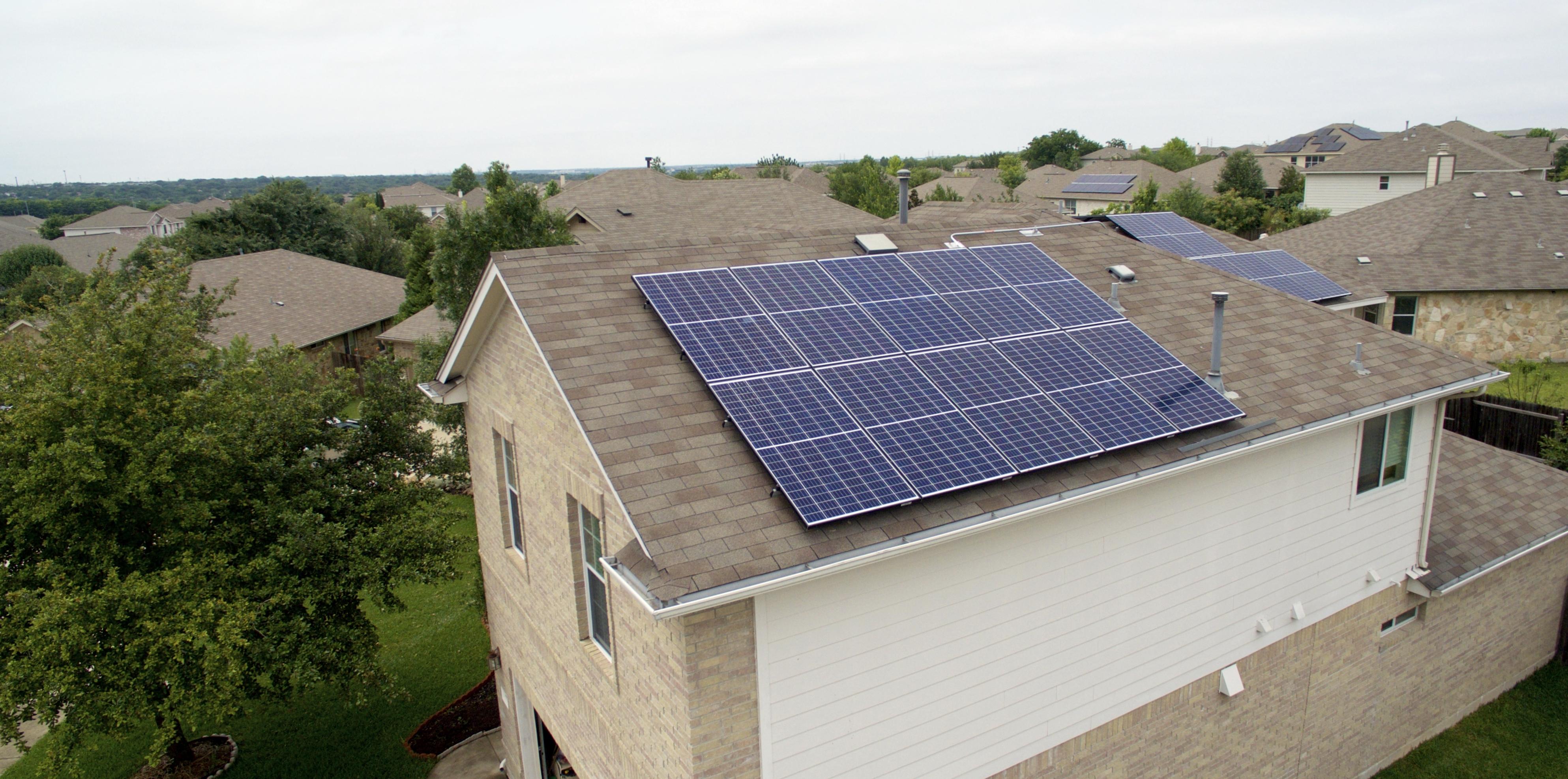 Austin Solar Install