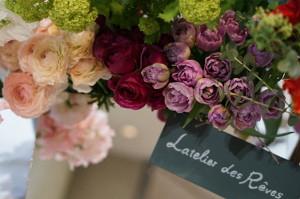 パリのお花屋さん最終日