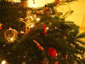 フランスのクリスマスツリー