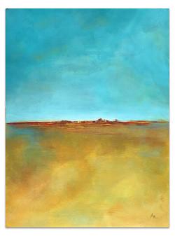 aqua-gold-yellow-abstract-seascape